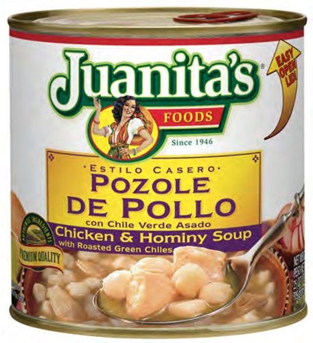 Picture of Pozole with Chicken - Juanita's Chicken Pozole 29.5 oz - Item No. 70132-00750