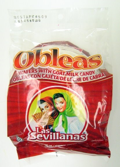Picture of Las Sevillanas Oblea con Cajeta Med 5 ct - Item No. 7041