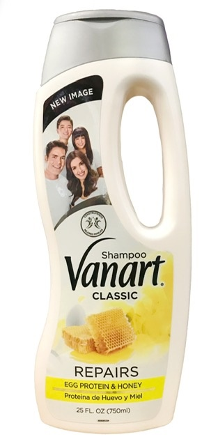 Picture of Vanart Shampoo Proteina de Huevo y Miel - Egg Vanart Shampoo 32 oz- Item No.7169