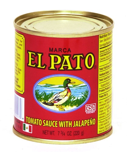 Picture of El Pato Tomato Sauce with Jalapeno 7.75oz - Item No. 72360-00207