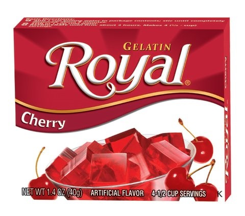 Picture of Royal: Fresca-Cherry Gelatin (2.8 oz) pack of 3 - Item No. 72392-01074