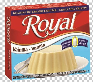 Picture of Royal: Fresca-Vanilla Gelatin with milk (2.8 oz) pack of 3 - Item No. 72392-01180