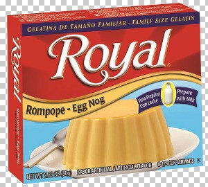 Picture of Royal: Fresca-Egg Nog Gelatin with milk (2.8 oz) pack of 3 - Item No. 72392-01181
