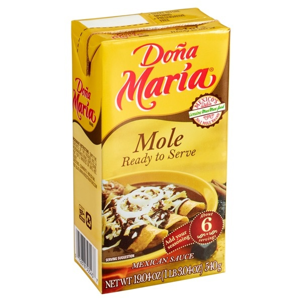 Picture of Do�a Maria Ready to Serve Mole 19.04 oz - Item No. 72878-05429