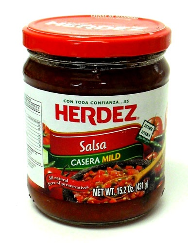 Picture of Herdez Salsa Casera Mild - Snack Size 15.2 oz - Item No. 72878-27563