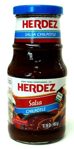 Picture of Herdez Salsa Chipotle 16 oz - Item No. 72878-27578