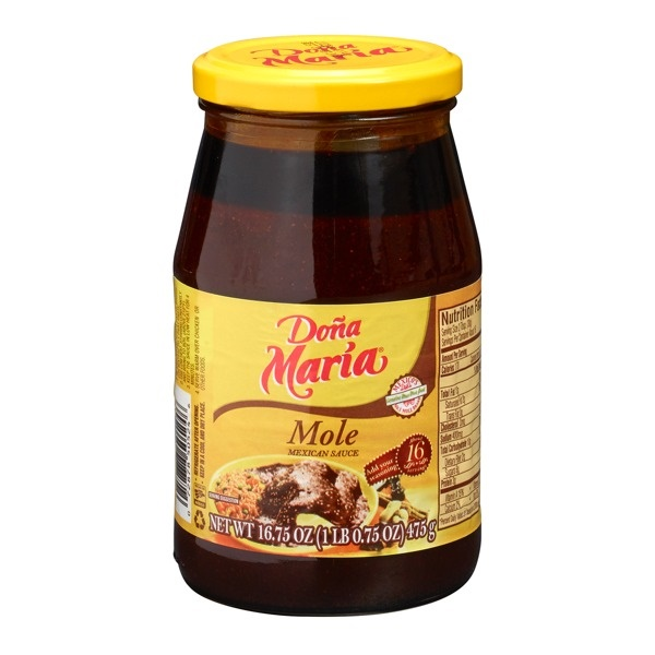 Picture of Dona Maria Mole Regular 16.75 oz - Item No. 72878-50524