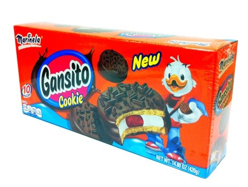 Picture of Gansito Marinela Cookie (10 packs)&nbsp;- Item No.&nbsp;74323-00273