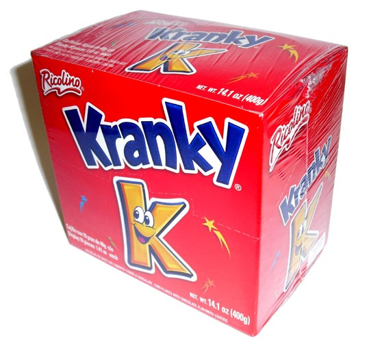 Picture of Ricolino Kranky Corn Flakes with Chocolate 1.41 oz 10 Pieces - Item No. 74323-00728