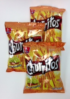Picture of Barcel Churritos Chile and Lime 4 oz (Pack of 3)&nbsp;- Item No.&nbsp;74323-06391