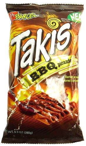 Picture of Takis BBQ Picante 9.9 oz (Pack of 3) - Item No. 757528-009779