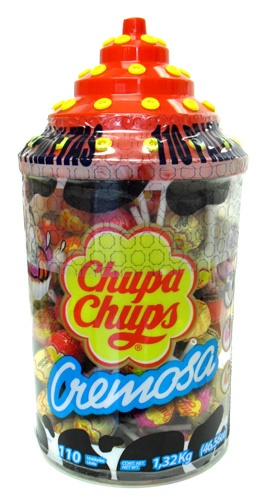 Picture of Chupa Chups Flavored Creamy Lollipops (40.63 oz) 96 pieces - Item No. 76350-61326