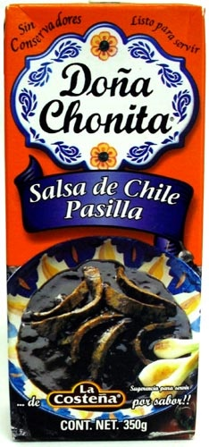 Picture of Dona Chonita Salsa Pasilla Pepper 12.3 oz - Item No. 76397-00790
