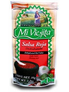 Picture of Mexican Salsa - Salsa Roja Mexicana Deshidratada  1.2 oz - Makes 1 cup- Item No.77841-00001