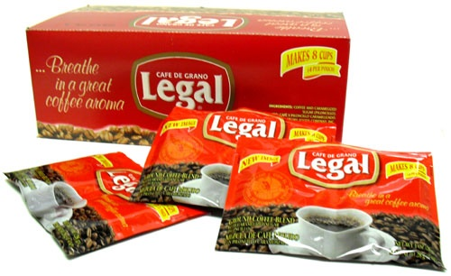 Picture of Caf� de Grano Legal Ground Coffee Blend (1 oz envelopes) 30 pieces - Item No. 78883-11105