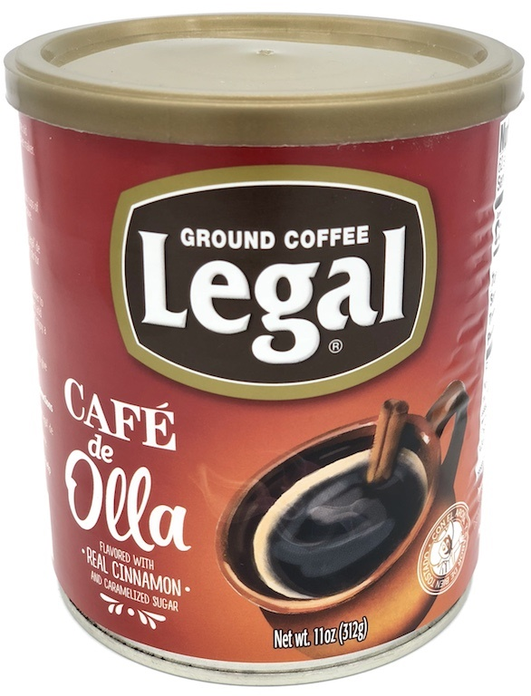 Picture of Caf Legal Ground Coffee Blend with Caramelized Sugar and Cinnamon 11 oz&nbsp;- Item No.&nbsp;78883-11156
