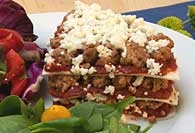 Picture of Turkey Taco Pie&nbsp;- Item No.&nbsp;80-turkeytacopie