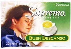 Picture of Supreno Te Buen Descanso 0.7 oz&nbsp;- Item No.&nbsp;80746-05832