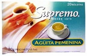 Picture of Supremo Te Aguita Femenina 0.7 oz&nbsp;- Item No.&nbsp;80746-11145