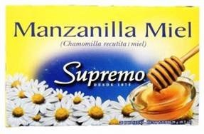 Picture of Supremo Te de Manzanilla con Miel 0.7 oz - Item No. 80746-11148
