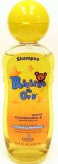 Picture of GRISI Shampoo RICITOS DE ORO with Chamomile 13.5 OZ - Item No. 82016