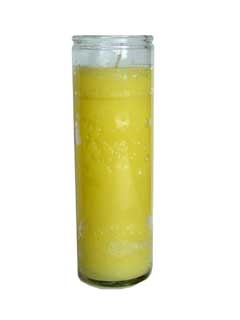 Picture of Yellow Candle 7-Day Candle 15 oz.&nbsp;- Item No.&nbsp;8305