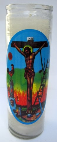 Picture of 7 Day Justo Juez Candle - Veladora 7 dias - Item No. 8578