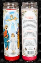 Picture of The Holy Family  Candle 15 oz. - Item No. 8594