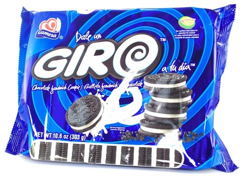 Picture of Gamesa Giro Chocolate Sandwich Cookies&nbsp;- Item No.&nbsp;86700-00767
