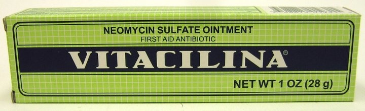 Picture of Vitacilina Antibiotic Ointment - Unguento con Antibiotico 1 OZ&nbsp;- Item No.&nbsp;87328
