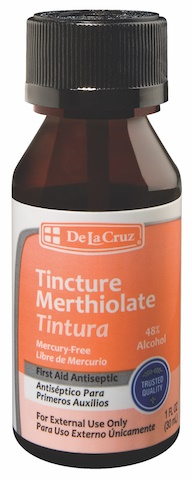 Picture of Merthiolate Tintura - Tincture 1 OZ - Item No. 87333