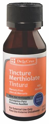 Picture of Merthiolate Tintura - Tincture 1 OZ- Item No.87333