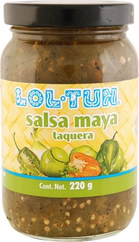 Picture of Lol Tun Mayan Green Taco Sauce 8 oz - Item No. 88032-017388