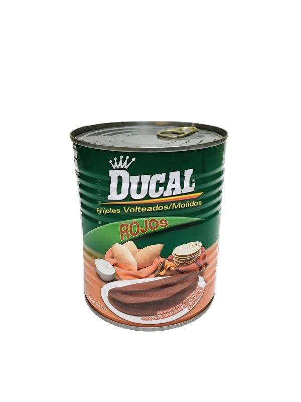 Picture of Ducal Refried Red Beans - Frijoles Rojos Volteados 15 oz - Item No. 88313-06214