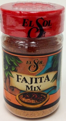 Picture of Fajita Mix Seasoning by El Sol de Mexico 4 oz - Item No. 8953