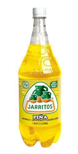Picture of Jarritos Pineapple Soda 1.5 liter - Item No. 90478-21627
