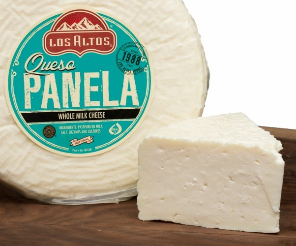 Picture of Queso Panela Los Altos (Semi Soft - Whole Milk Cheese) 3 LB Random - Item No. 91155-12405