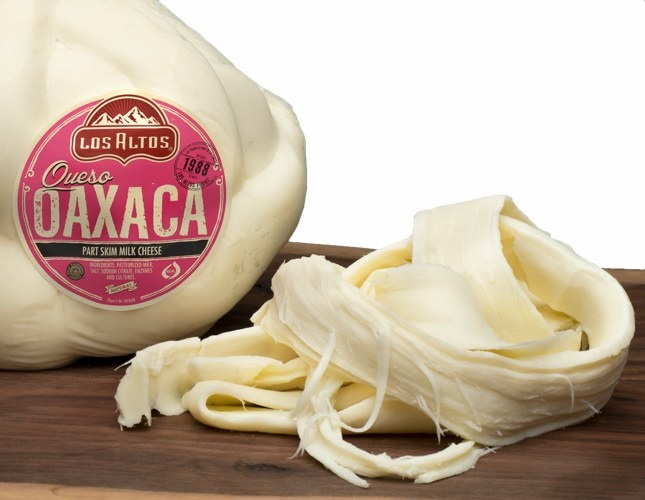 Picture of Queso Oaxaca en Bola Los Altos (String Mozzarella Cheese Wheel) 5 LB Random - Item No. 91155-13801