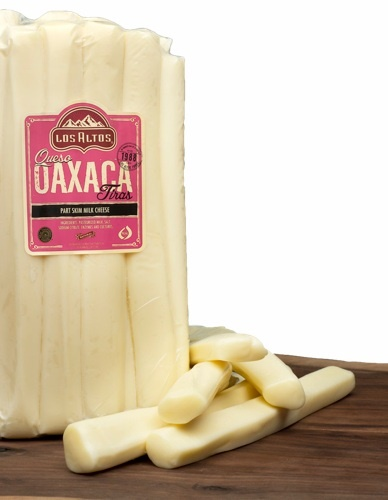 Picture of Queso Oaxaca Los Altos en Tiras (Mozarella Cheese Strips) 5 LB Random - Item No. 91155-18022
