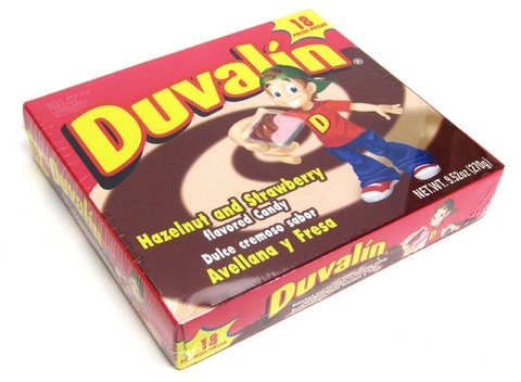 Picture of Duvalin Hazelnut Strawberry Candy Creams 18 ct - Item No. 9216