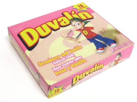 Picture of Duvalin Strawberry-Vanilla Candy Creams 18 pieces&nbsp;- Item No.&nbsp;9217