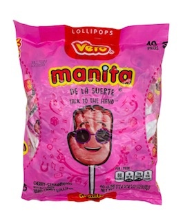 Picture of Vero Manita Candy 40 pieces&nbsp;- Item No.&nbsp;9219