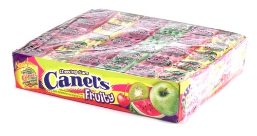 Picture of Canel's Assorted Fruity Gum Candy 10.58 oz.&nbsp;- Item No.&nbsp;9221-fruity