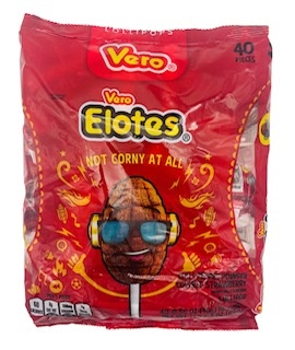 Picture of Vero Elotes Candy 40 pieces - Item No. 9229