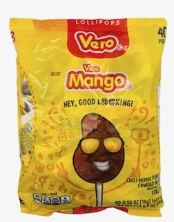 Picture of Vero Mango Mexican Candy 40 pieces - Item No. 9242