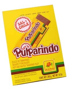 Picture of Pulparindo - Mexican Candy by De La Rosa - 20 pieces - Item No. 9247