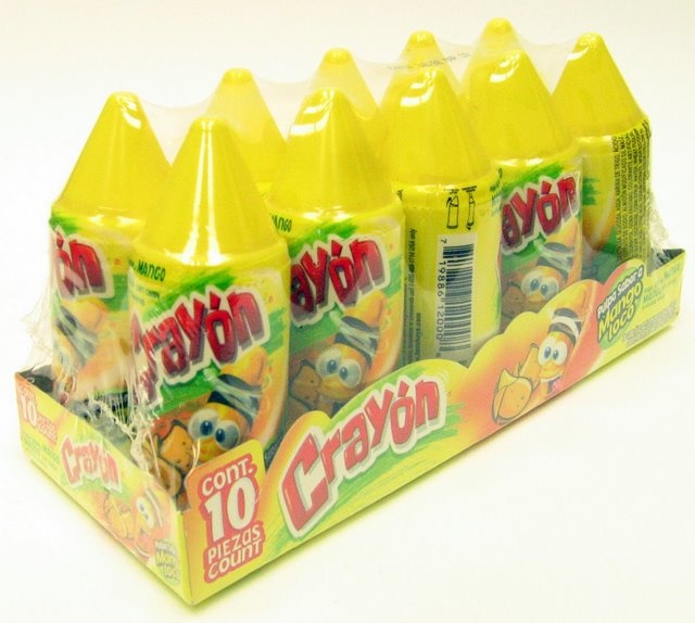 Picture of Crayon Mango 10 units - Item No. 9259