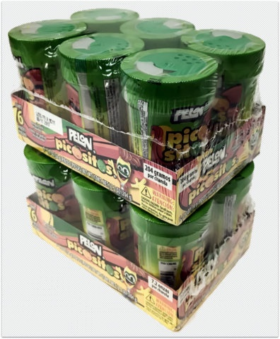 Picture of Pelon Picosito by Lorena - Fruit Seasoning 10 count - Item No. 9285