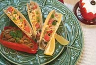 Picture of Texas Turkey Tacos Recipe - Item No. 95-texasturkeytacos