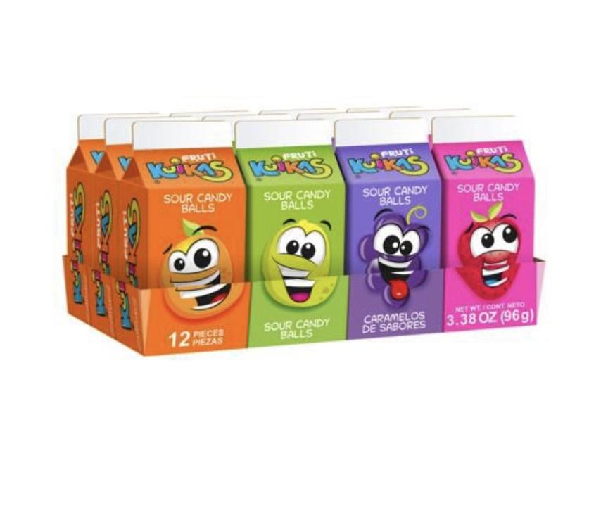 Picture of Anahuac Jugo de Sabores - Sour Candy Balls (12 ct) 4.2oz- Item No.95600-00231